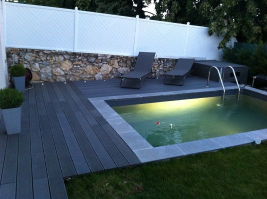 les 25 meilleures id es de la cat gorie piscine 10m2 sur pinterest bassin hors sol meubles. Black Bedroom Furniture Sets. Home Design Ideas