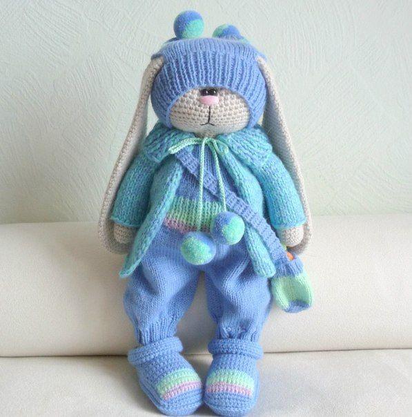 Милые вязаные игрушки Бэлы Макаевой<br> #Вязание_крючком@clubmycozyhome