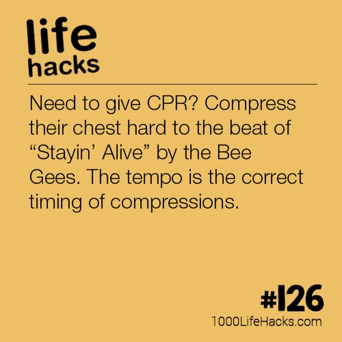 #126 – The Correct Tempo for CPR