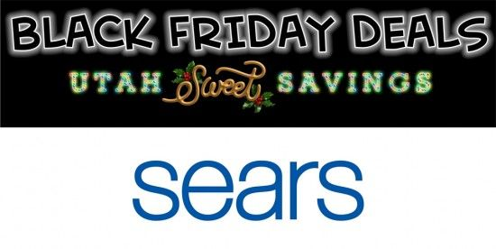 Utah Sweet Savings: Sears Black Friday 2015