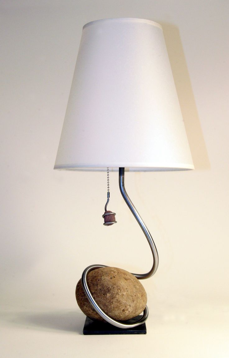 table lamp stone - Google Search