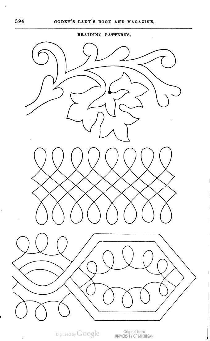 Best 155 Soutache Patterns images on Pinterest