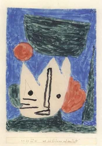 Like the flower in the field by PAUL KLEE 1939
