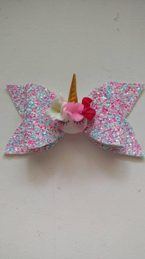 Unicorn bow   sparkly unicorn bow   sparkly bow   unicorn headband   unicorn  glitter clip   glitter 6ccd04f2bfd