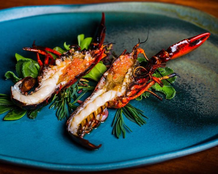 .... grilled over peach wood served with finger limes and native herbs. #firedoor #cookingwithfire #restaurantaustralia #ingredients