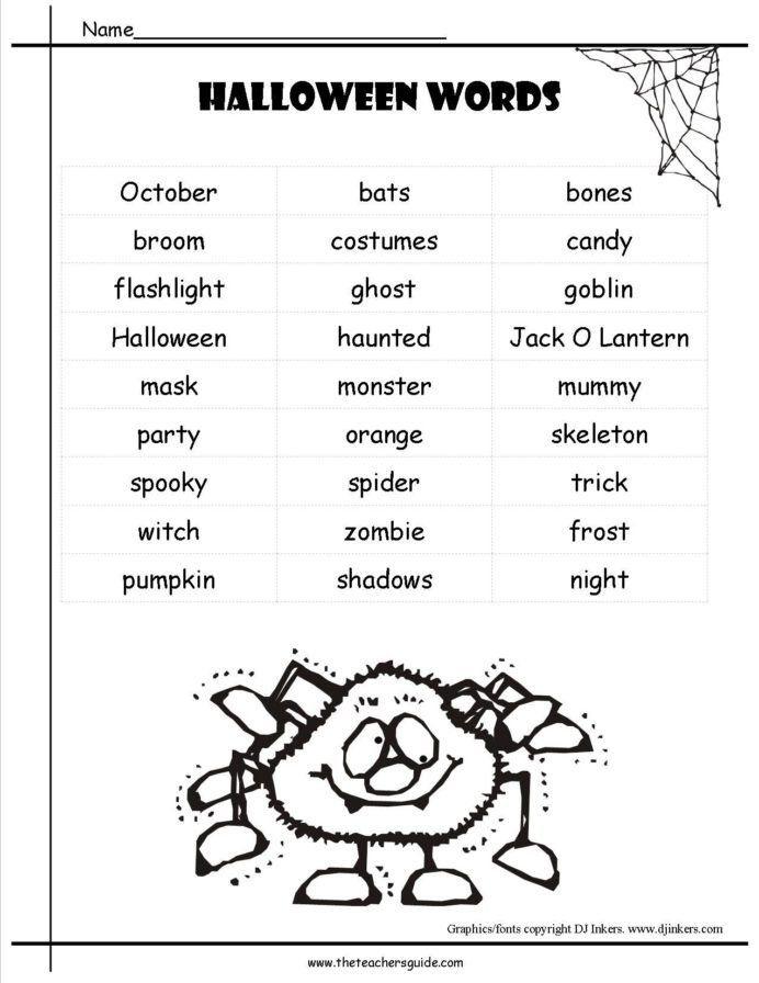 Halloween Worksheets For Kindergarten Halloween Worksheets For Kindergarten Worksheets In 2020 Halloween Worksheets Halloween Math Worksheets Halloween Worksheets Free Halloween worksheets 2nd grade