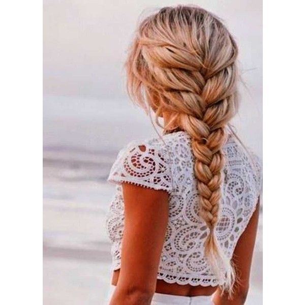 How to Create a Simple Cute Hairstyles For Long Hair ❤ liked on Polyvore featu…