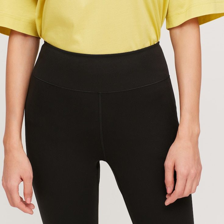 Women Airism Uv Protection Soft Leggings In 2020 Pants For Women Leggings Are Not Pants Uniqlo