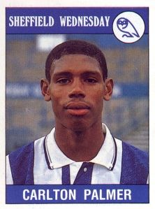 Carlton Palmer. Like Morph had sex with a pepperami.