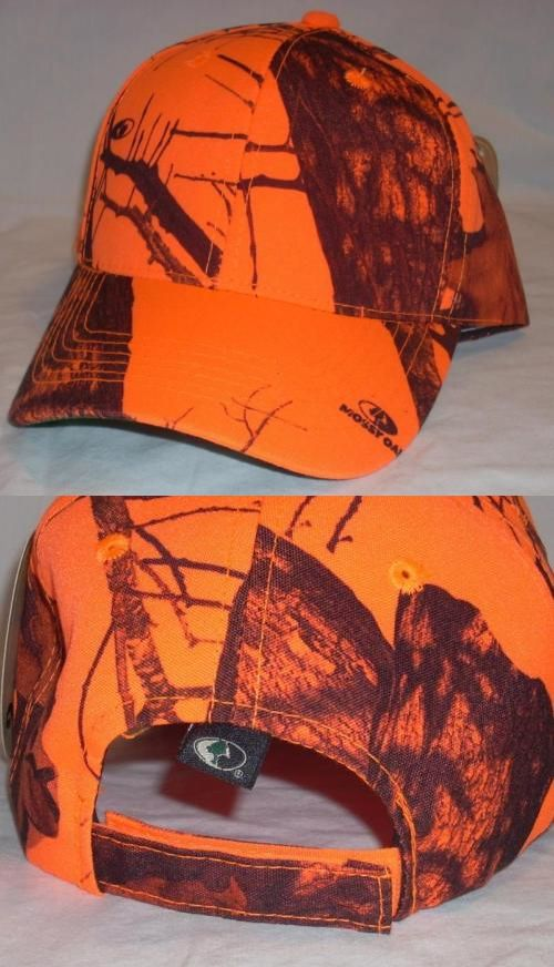 Clothing Shoes and Accessories 36239  Outdoor Cap Hunter Safety Blaze  Orange And Mossy Oak Camo Camouflage Base…  346d46d5c13e