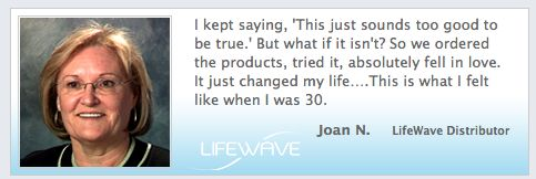 Dr. Joan Norton on the life-changing power of the #LifeWave products and business opportunity.