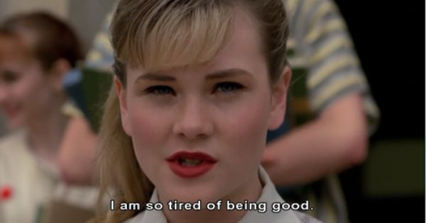 Amy Locane in: Cry Baby (Dir. John Waters,1990).  Source