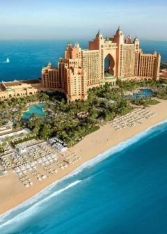 Kids will love the opportunity to swim with dolphins, the kids club with its painting, underwater safaris, cooking classes, and the 24-hour ice-cream parlor, while parents will enjoy peace of mind thanks to the qualified nannies and babysitters on hand at the Atlantis Resort in Dubai.