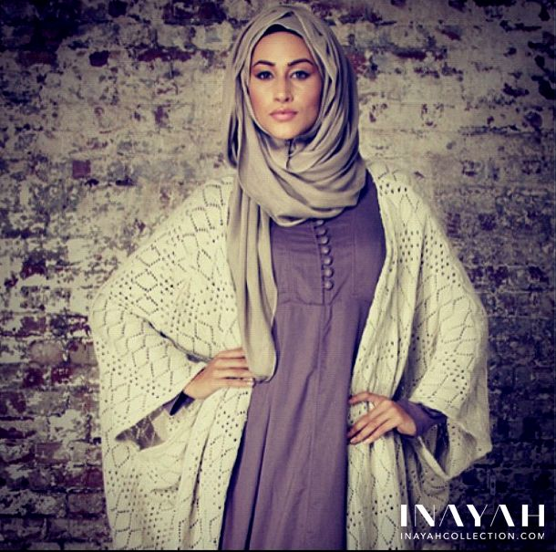 Crochet Oatmeal Cardigan, with batwing sleeves, from www.inayahcollect...