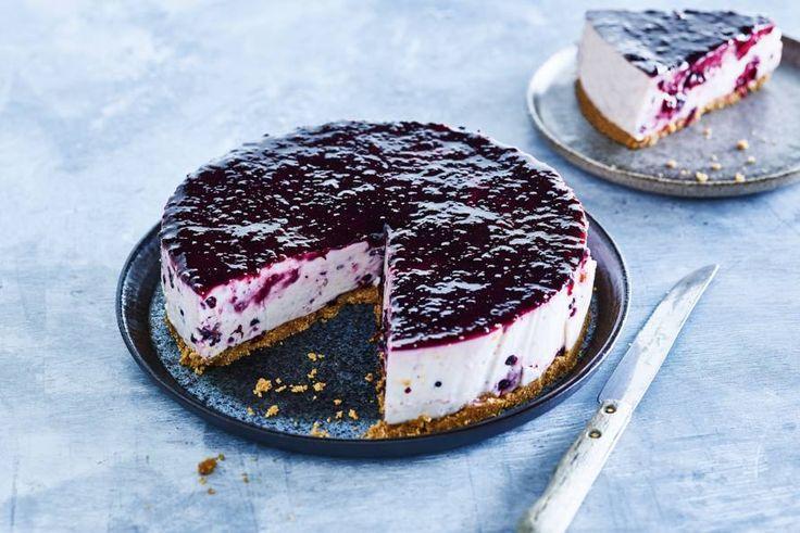 Honing-ricotta (no bake) cheesecake - Recept - Allerhande