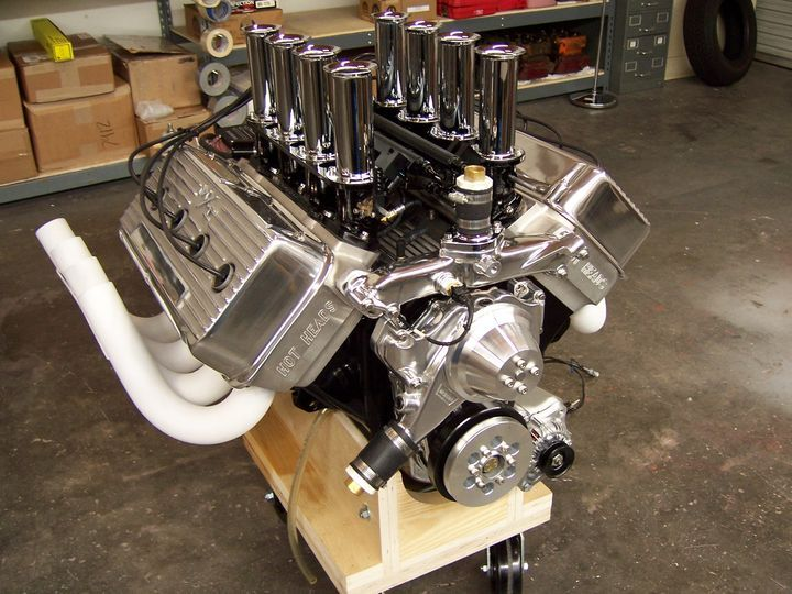 Early Hemi Engines