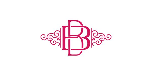 Bb logo businnes card and stationary logo design for B b design