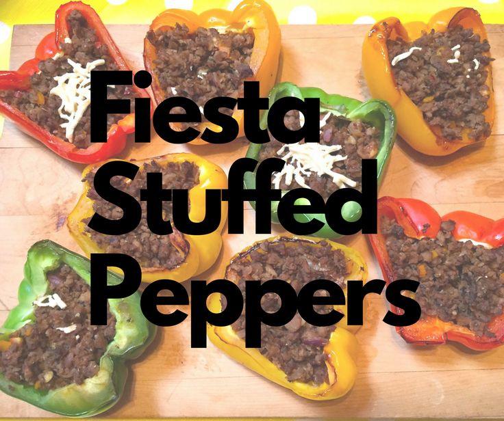 Vegan Stuffed Peppers #vegan #healthy #dairyfree #meatless