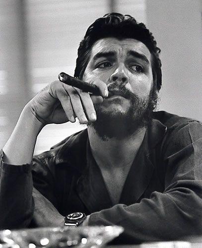 Che Guevara (1928 Jun14 - 1967 Oct9); Argentine Marxist humanist revolutionary in Cuban Revolution (later Algiers, Congo, Bolivia) + physician, author, guerrilla leader, diplomat, military theorist...symbol of ubiquitous countercultural