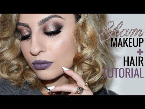 Glam Makeup & Hair Tutorial! feat. ColourPop Birthday Boy - YouTube