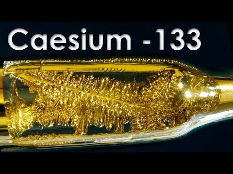 Эксперименты сцезием: удивительный иогнеопасный металл — Популярная механика