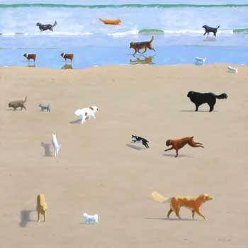 """Print of """"Dog Day"""" © Rob Diebboll 2010"""