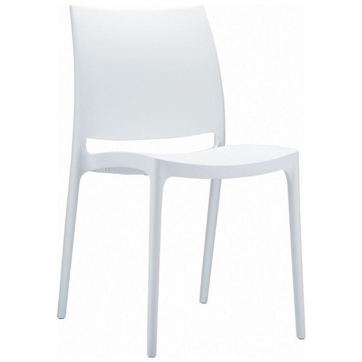 Maya Dining Chair White (Set of 2)