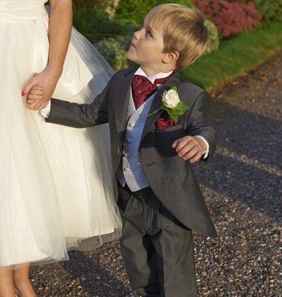 Our boys charcoal mohair tailcoat, Burford. #groom #weddingsuits #greysuit #groomsmen