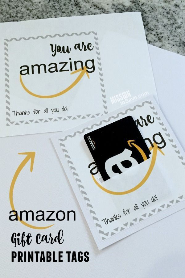 picture relating to Amazon Printable Gift Card identified as Amazon Present Card Printable - Fantastic for Trainer Presents