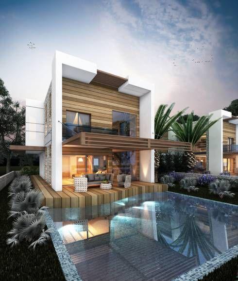 MİNERVA MİMARLIK - ÇEŞME VİLLA: modern tarz Evler