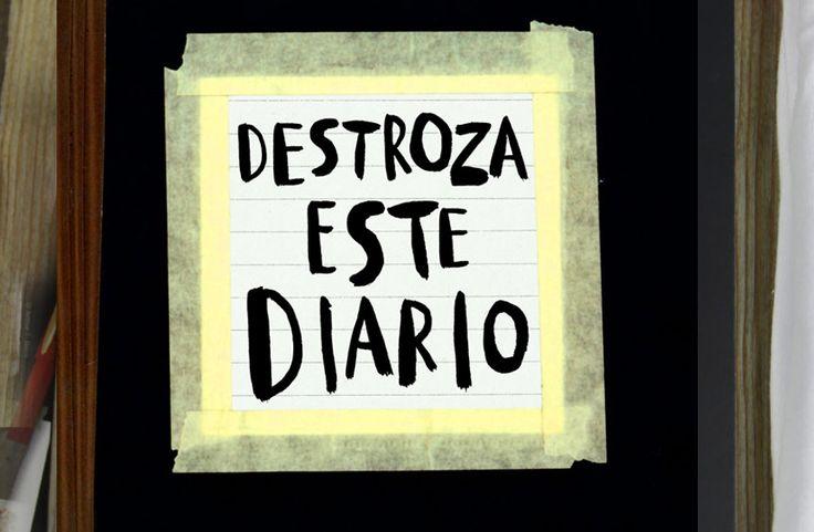 """""""Destroza este diario"""": diversión y creatividad asegurada"""