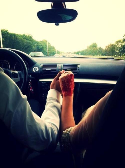 Image via We Heart It #boy #car #couple #cute #girl #hands #love