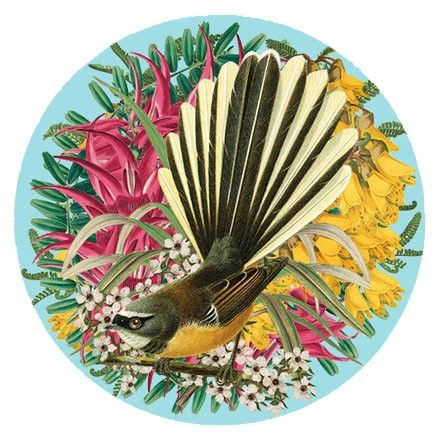 Art spot botanical fantail large or small $24