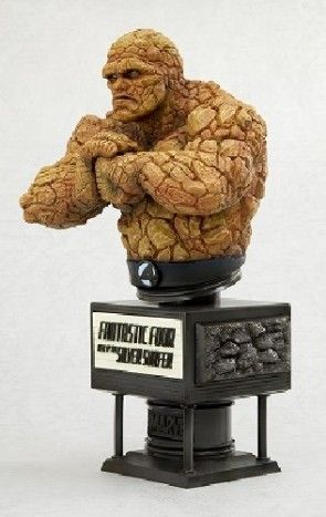 Fantastic Four Rise Of The Silver Surfer: Thing Fine Art Bust