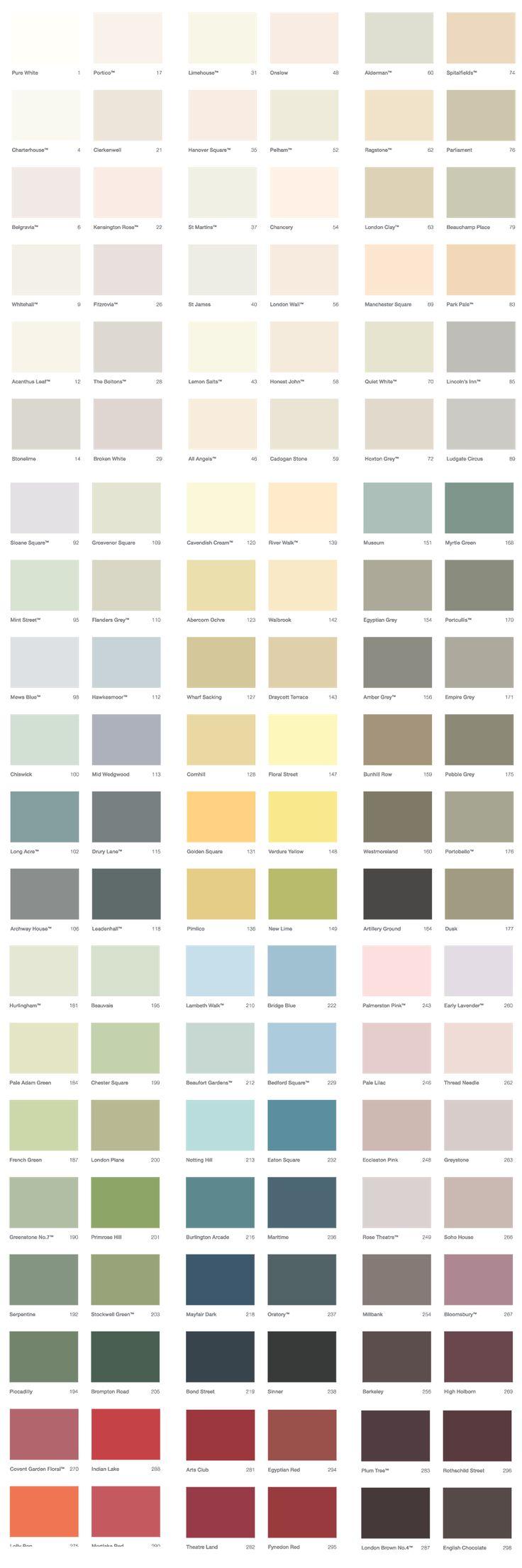 We paint our bespoke kitchens with 12 coats of Mylands of London paint | Middleton Bespoke | www.middleton-bespoke.co.uk
