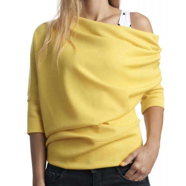 Kostenloses Schnittmuster für einen Damen-Shirt von Bernette in Gr. S - XL