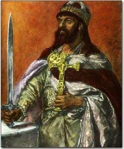 Mieszko I Piast  Duke of the Polans  Founder of the Piast Dynasty-son of Siemomysł, first Christian monarch