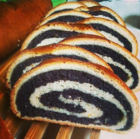 Ukrainian Christmas Poppy Seed Roll Makovyi Knysh Recipe - Food.com - 194485