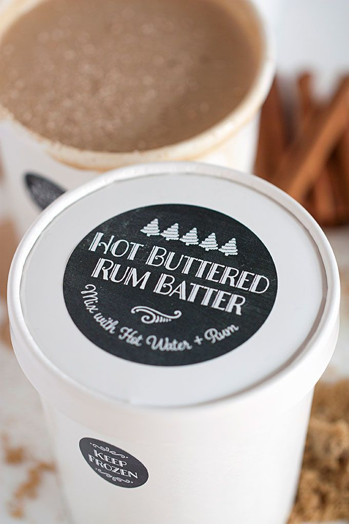 Edible Gift: Hot Buttered Rum Batter | Evermine Blog | www.evermine.com