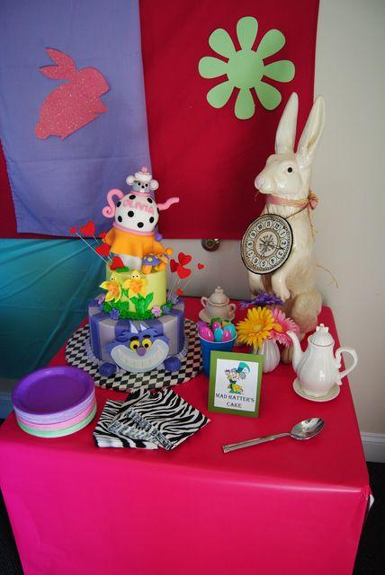 Alice in Wonderland Party #aliceinwonderland #party