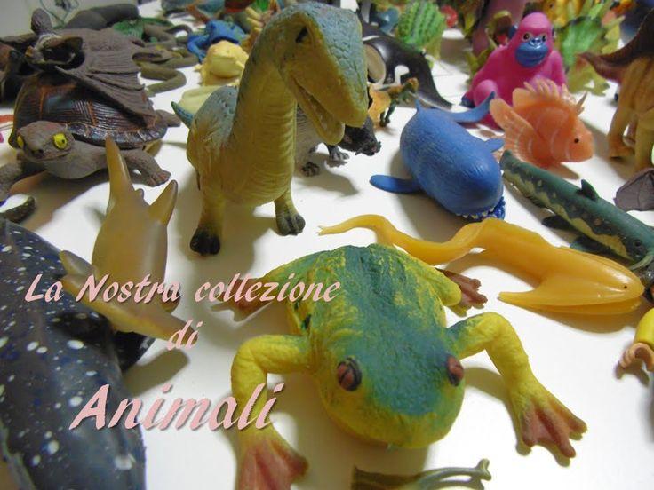 I nostri animaletti più o meno gommosi e plasticosi :-) / Our collection...