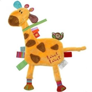 Kocyk przytulanka żyrafa Label Label
