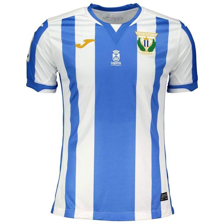 Joma Camiseta Segunda Equipación Leganés 2018-2019 Blanco-Ve
