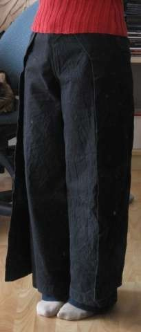 Double Trouser with Pattern