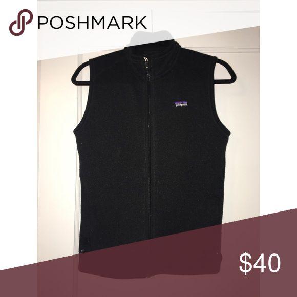"""Women's Patagonia """"Better Sweater"""" Vest - Medium Black Fleece Patagonia Vest, Originally $99 Patagonia Jackets & Coats Vests"""
