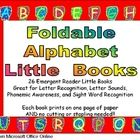 $4.00This is a set of 26 emergent reader little books- one for each letter of the alphabet!! Each book prints on a single sheet of paper: Books Prints, Minis Books Emergency, Books Emergency Readers, Student Simple, Letters Books