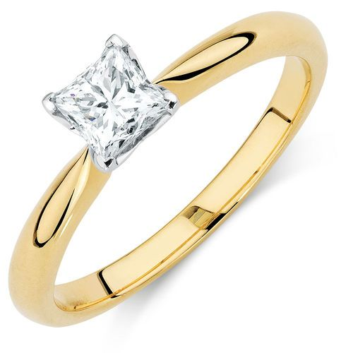 1/2 CARAT CERTIFIED DIAMOND SOLITAIRE RING