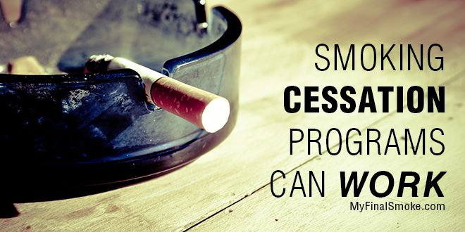 Smoking Cessation Programs Can Work #Quitting_Smoking