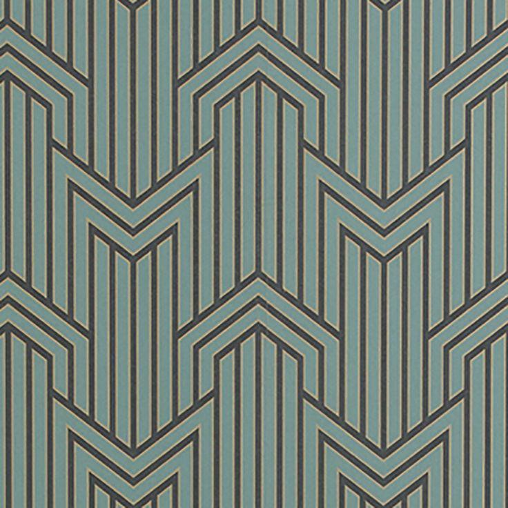 Assez 32 best Bradbury Wallpaper Catalogs images on Pinterest | Art deco  XU22