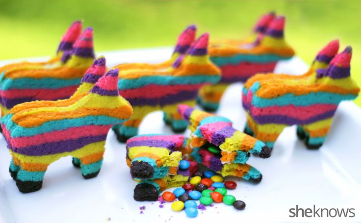 Piñata Cookies ~ with candy hidden inside! ~ full tutorial with step-by-step pictures | from She Knows